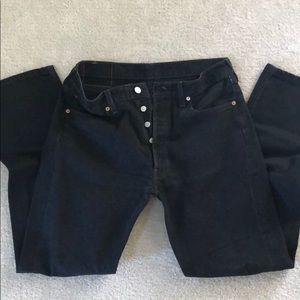 Levi 501 waist 33 black